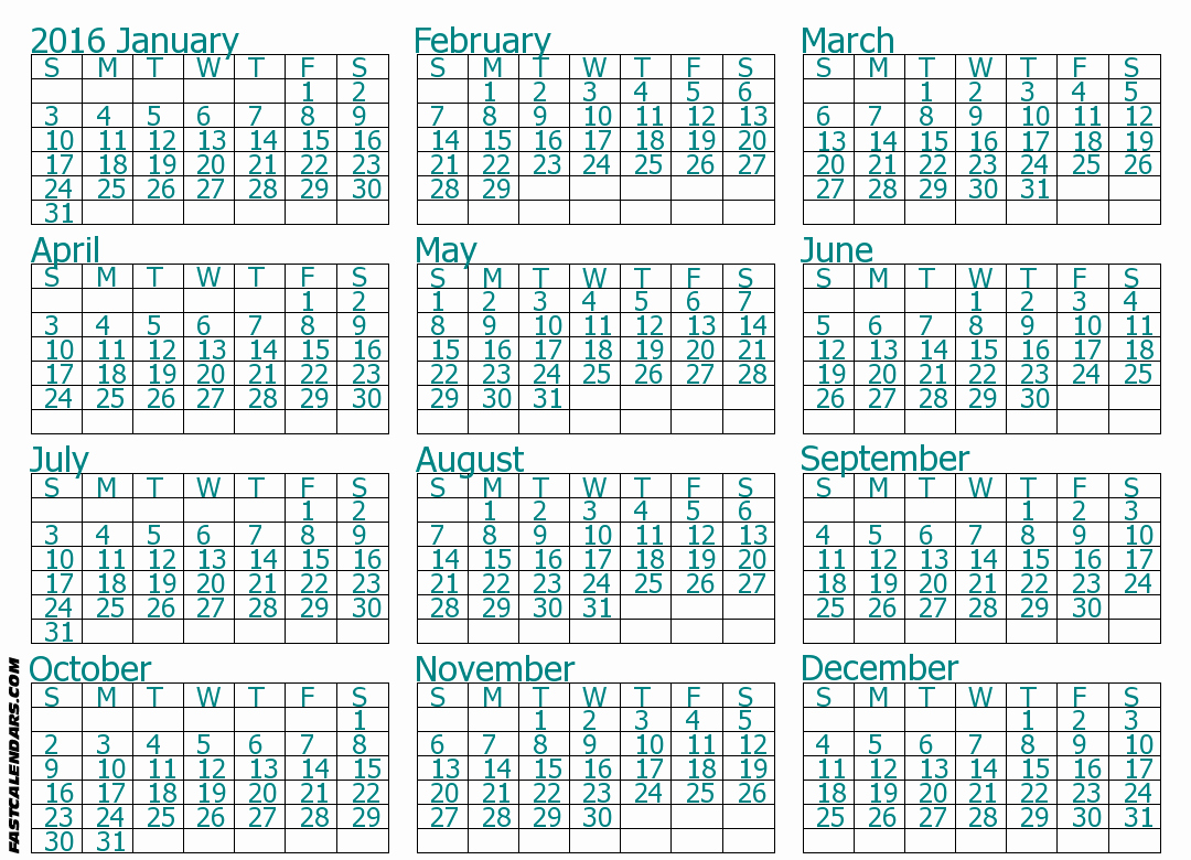"Full Year Calendar Template 2015 New Search Results for ""full Size Blank Printable Calendar"