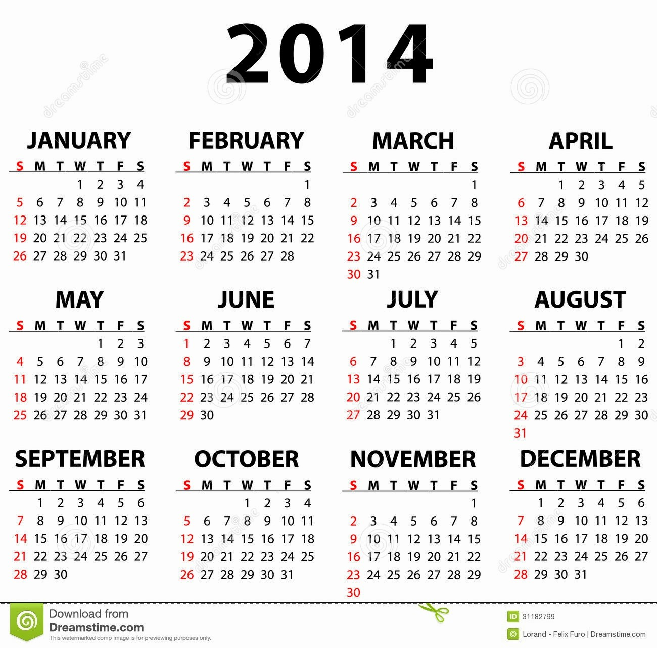 "Full Year Calendar Template 2015 Unique Search Results for ""full Year Calendar 2014"" – Calendar 2015"