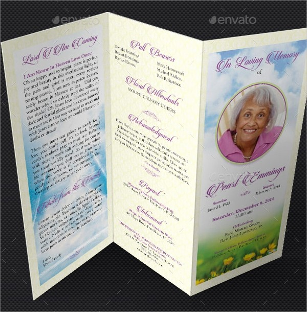 Funeral Program Template Word 2010 Best Of 14 Funeral Memorial Program Templates Psd Ai Vector