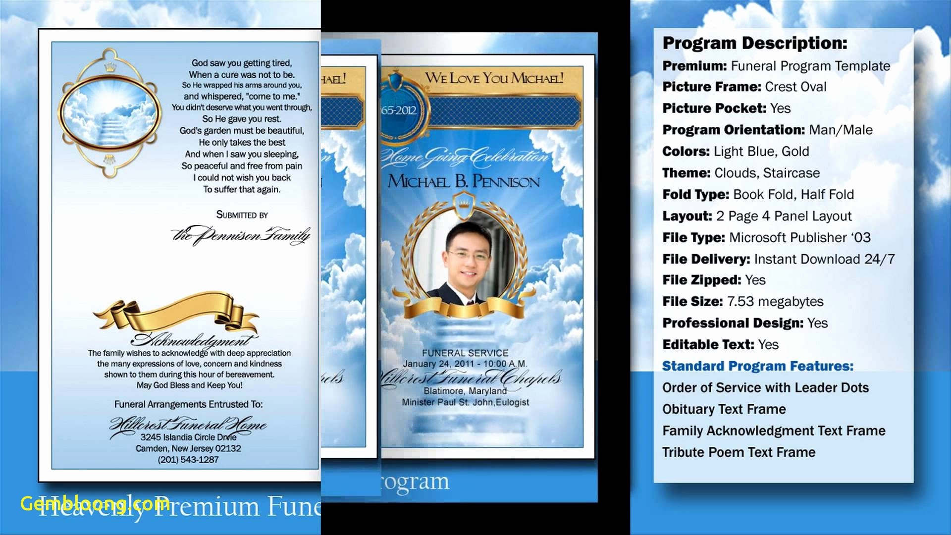 Funeral Program Template Word 2010 Best Of Free Funeral Program Template Microsoft Word