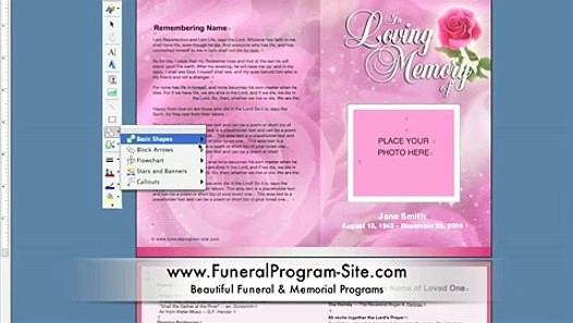 Funeral Program Template Word 2010 Best Of How to Create A Memorial Program Template On Ms Word