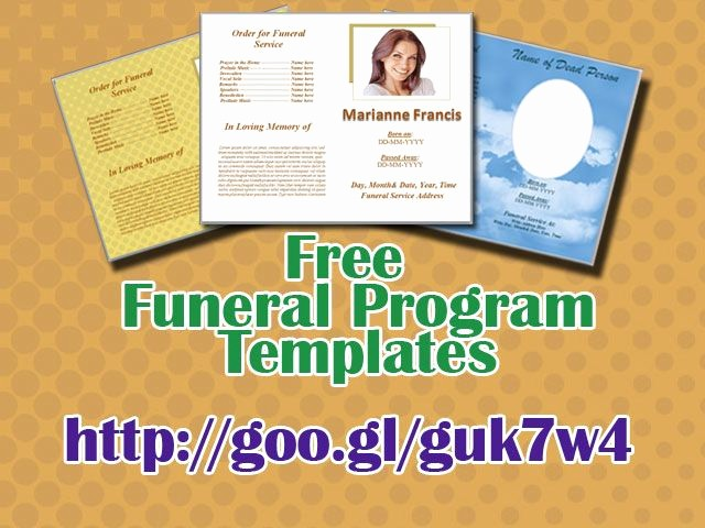 Funeral Program Template Word 2010 Inspirational 79 Best Funeral Program Templates for Ms Word to Download
