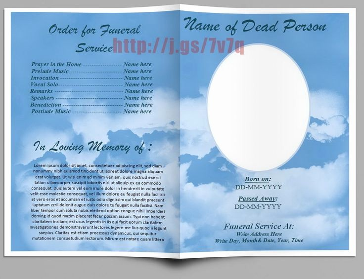 Funeral Program Template Word 2010 Unique 79 Best Images About Funeral Program Templates for Ms Word