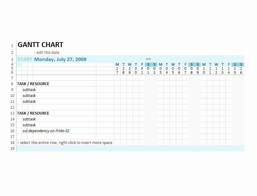 Gantt Chart Powerpoint Template Free Best Of 37 Free Gantt Chart Templates Excel Powerpoint Word