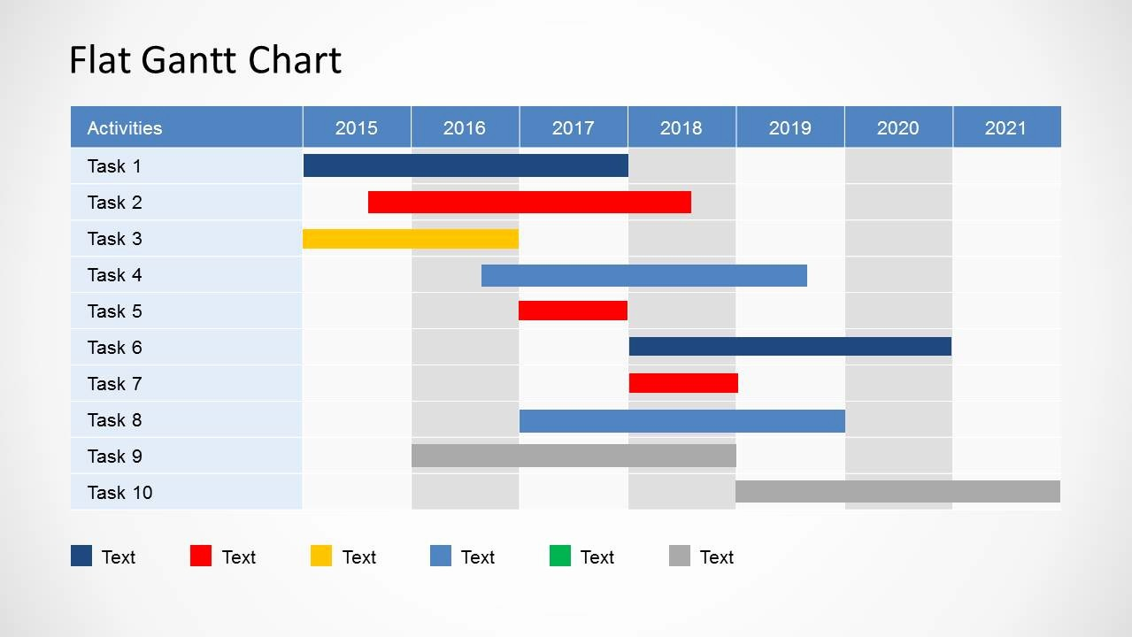 Gantt Chart Powerpoint Template Free Inspirational Gantt Chart Ppt Template Free Download Example Of