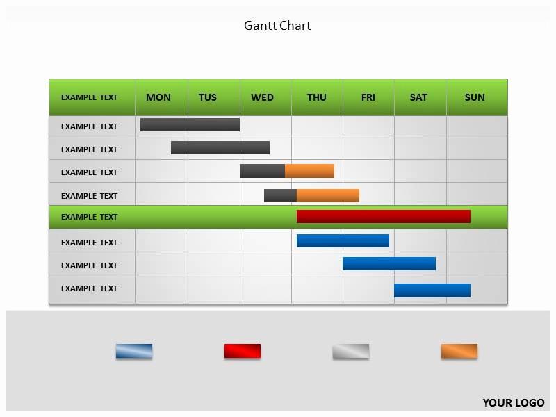 Gantt Chart Powerpoint Template Free New Gantt Chart Template Powerpoint Free
