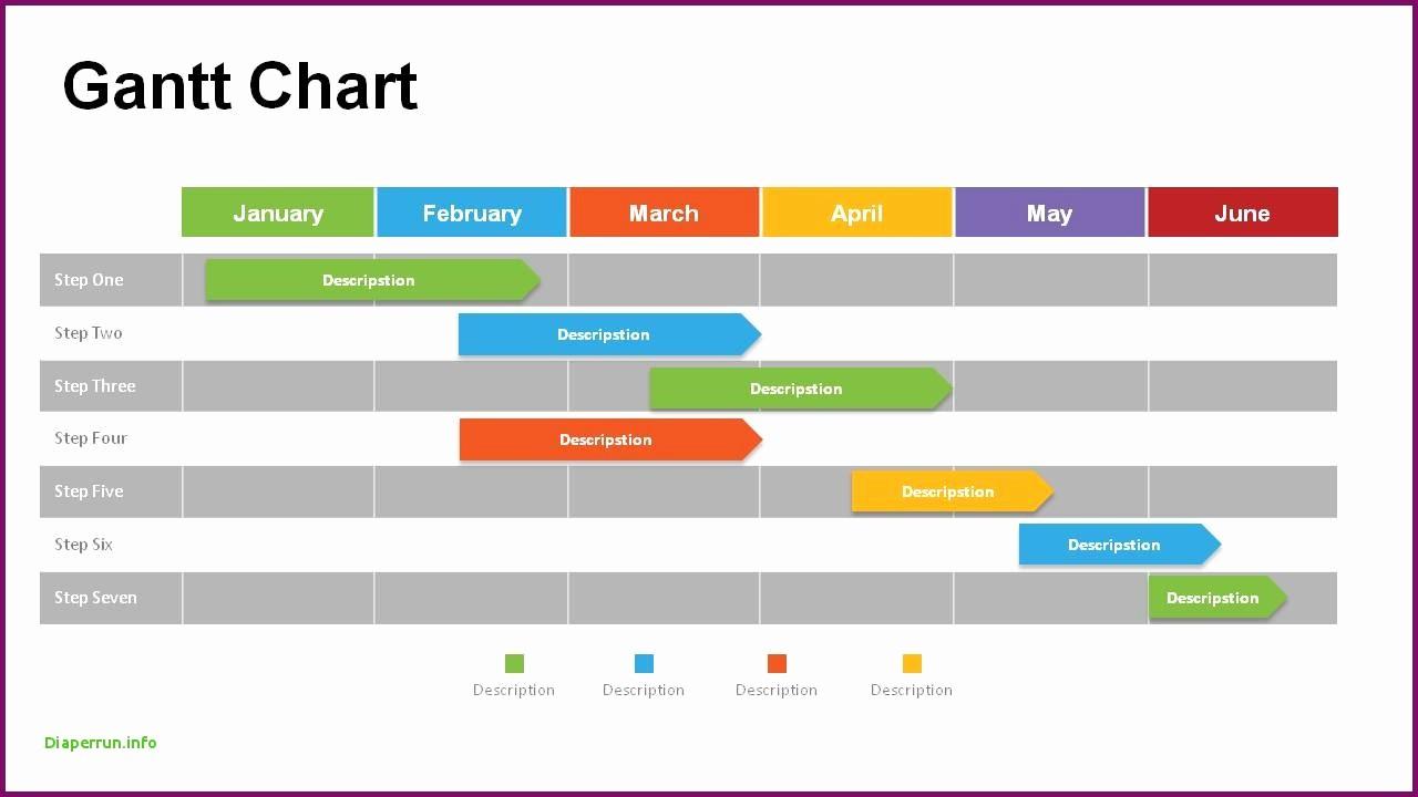 Gantt Chart Template Free Download Fresh Gantt Chart Ppt Template Free Download Example Of