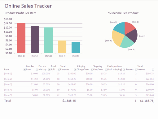 General Dynamics Business Card Template Beautiful Line Sales Tracker