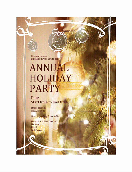 General Dynamics Business Card Template Luxury Holiday Party Invitation for Business event