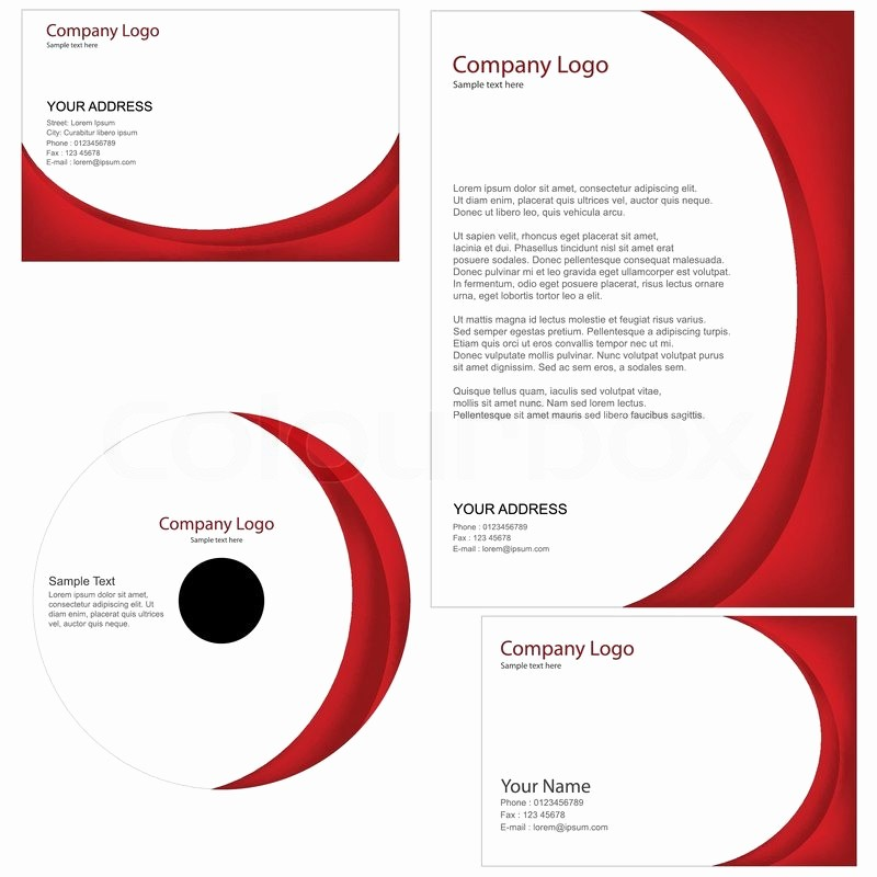 General Dynamics Business Card Template Luxury Set Of Business Templates Including Business Card Cd Cover