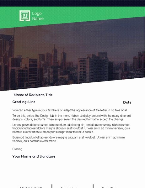 General Dynamics Business Card Template Unique Business Letter Green forest Design