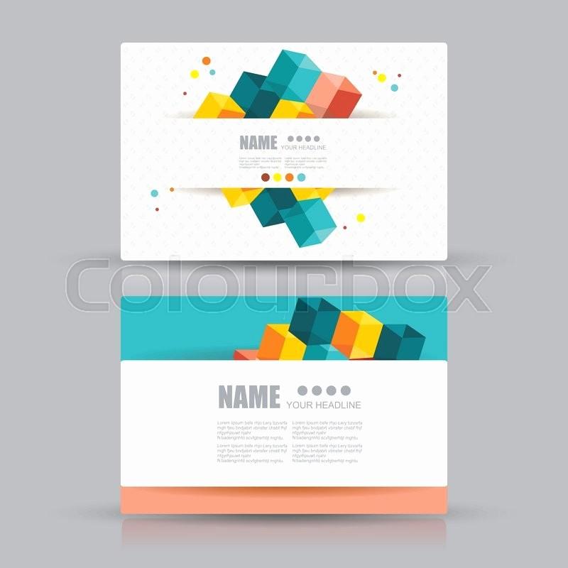 General Dynamics Business Card Template Unique isometric Business Cards Design Business Cards with