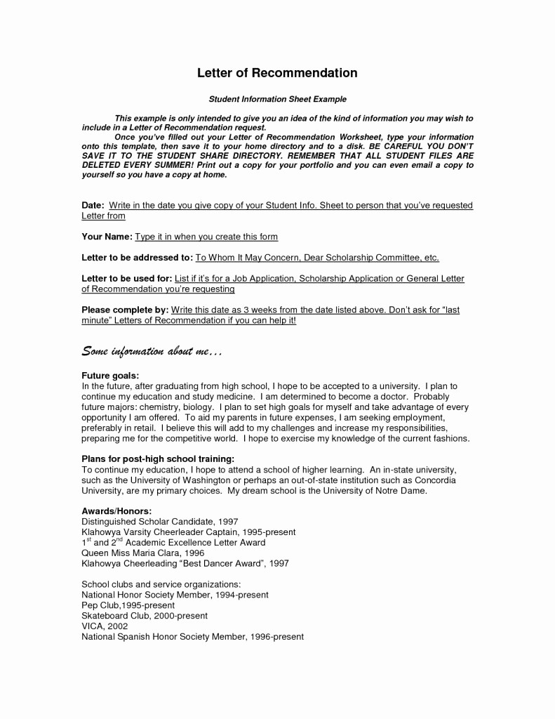 General Recommendation Letter for Employee Awesome General Letter Re Mendation format Doc for Coworker