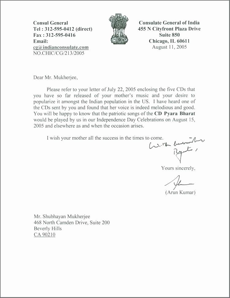 General Recommendation Letter for Employee Unique General Letter Re Mendation Sample