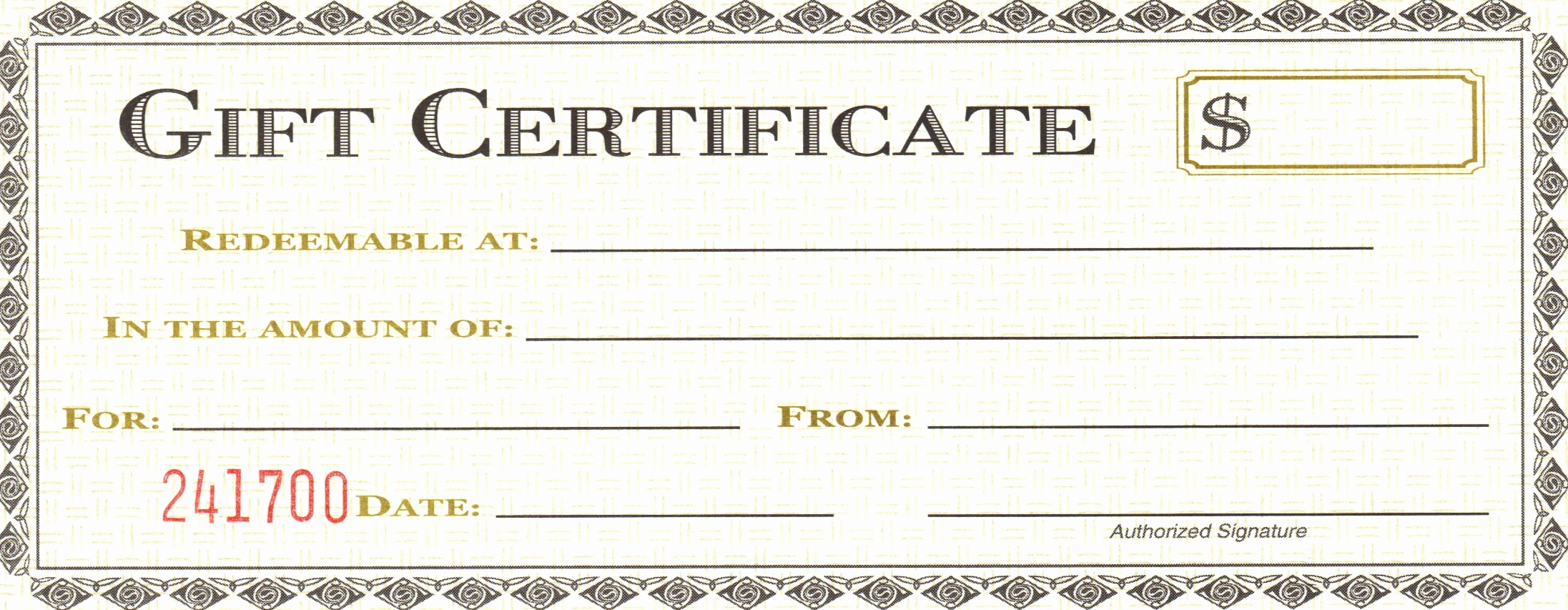 Generic Gift Certificate Template Free Awesome Blank Gift Certificate Template Mughals