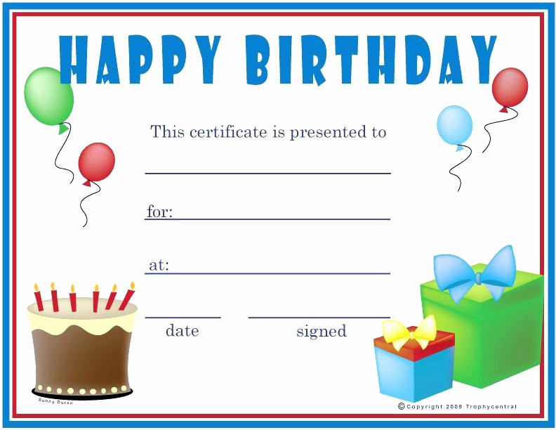 Generic Gift Certificate Template Free Awesome Kids Gift Certificate Template Colorful Printable Generic