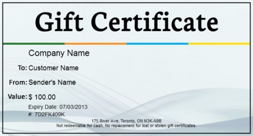 Generic Gift Certificate Template Free Awesome top 5 Free Gift Certificate Template Websites