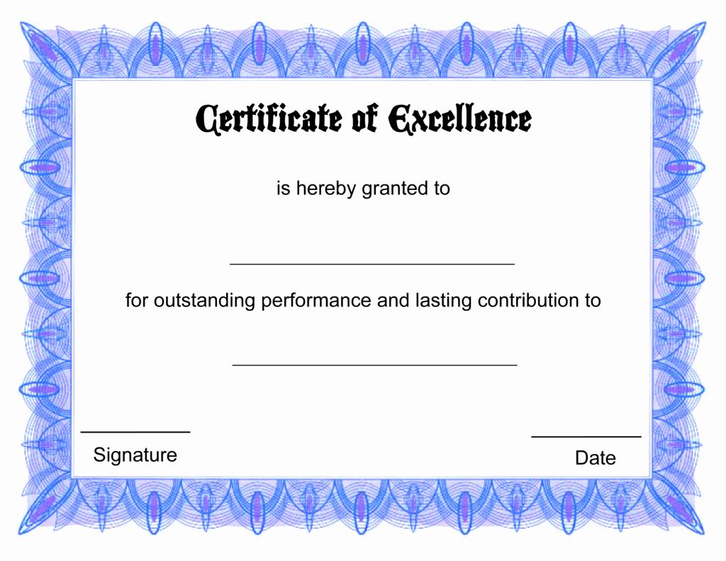 Generic Gift Certificate Template Free Beautiful Free Line Certificate Tmplate