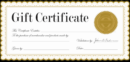 Generic Gift Certificate Template Free Best Of Generic Gift Certificate Gift Ftempo