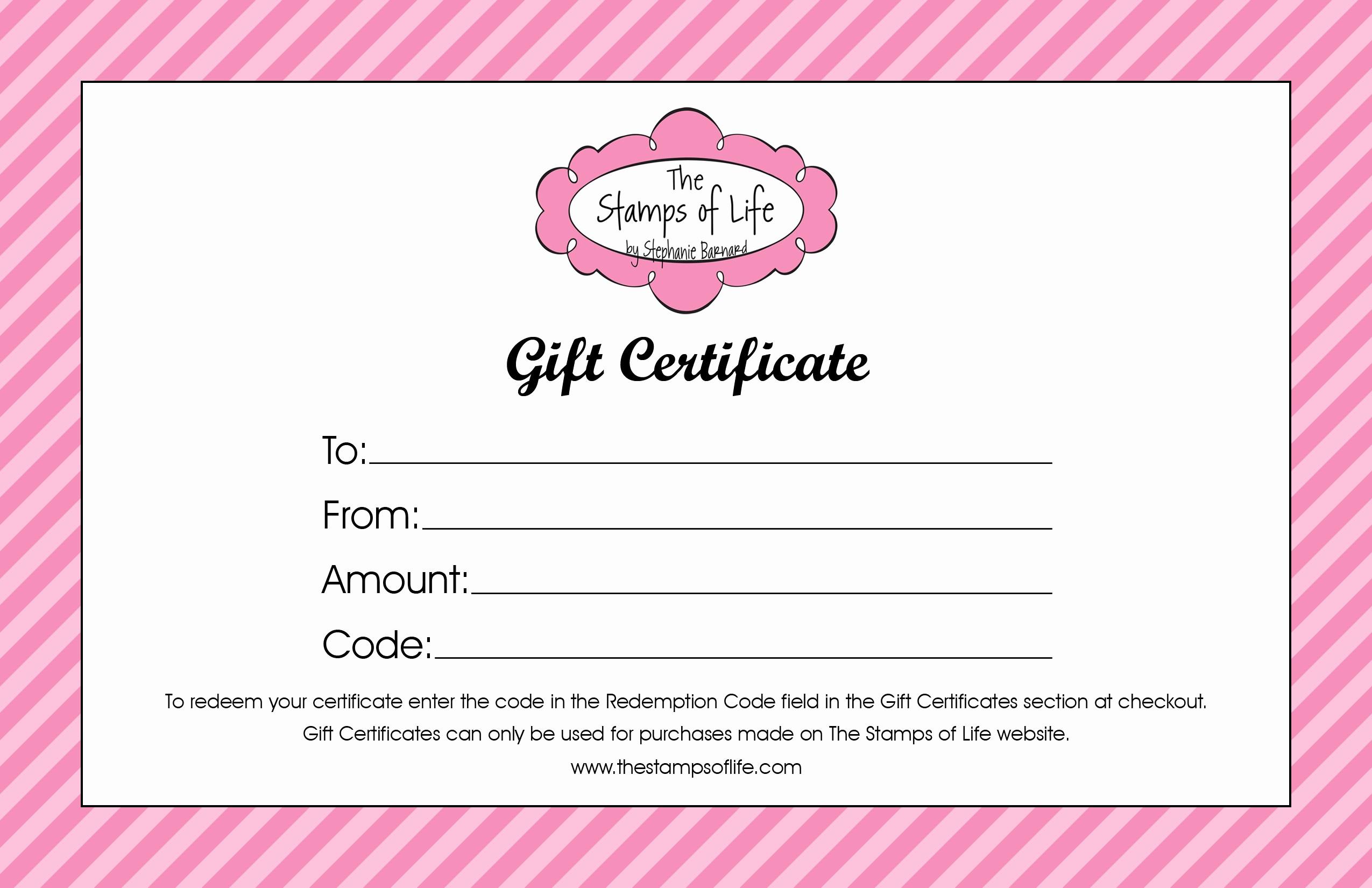 Generic Gift Certificate Template Free Fresh 21 Free Free Gift Certificate Templates Word Excel formats