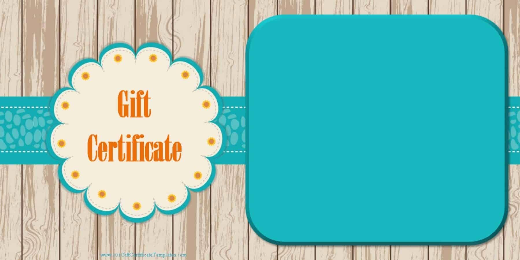 Generic Gift Certificate Template Free Luxury Printable Gift Certificate Templates