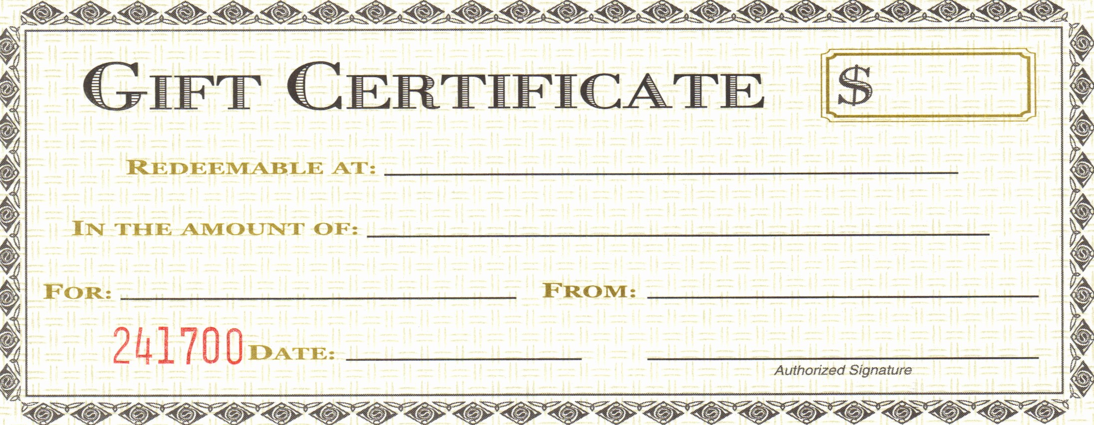 Generic Gift Certificate Template Free New 18 Gift Certificate Templates Excel Pdf formats