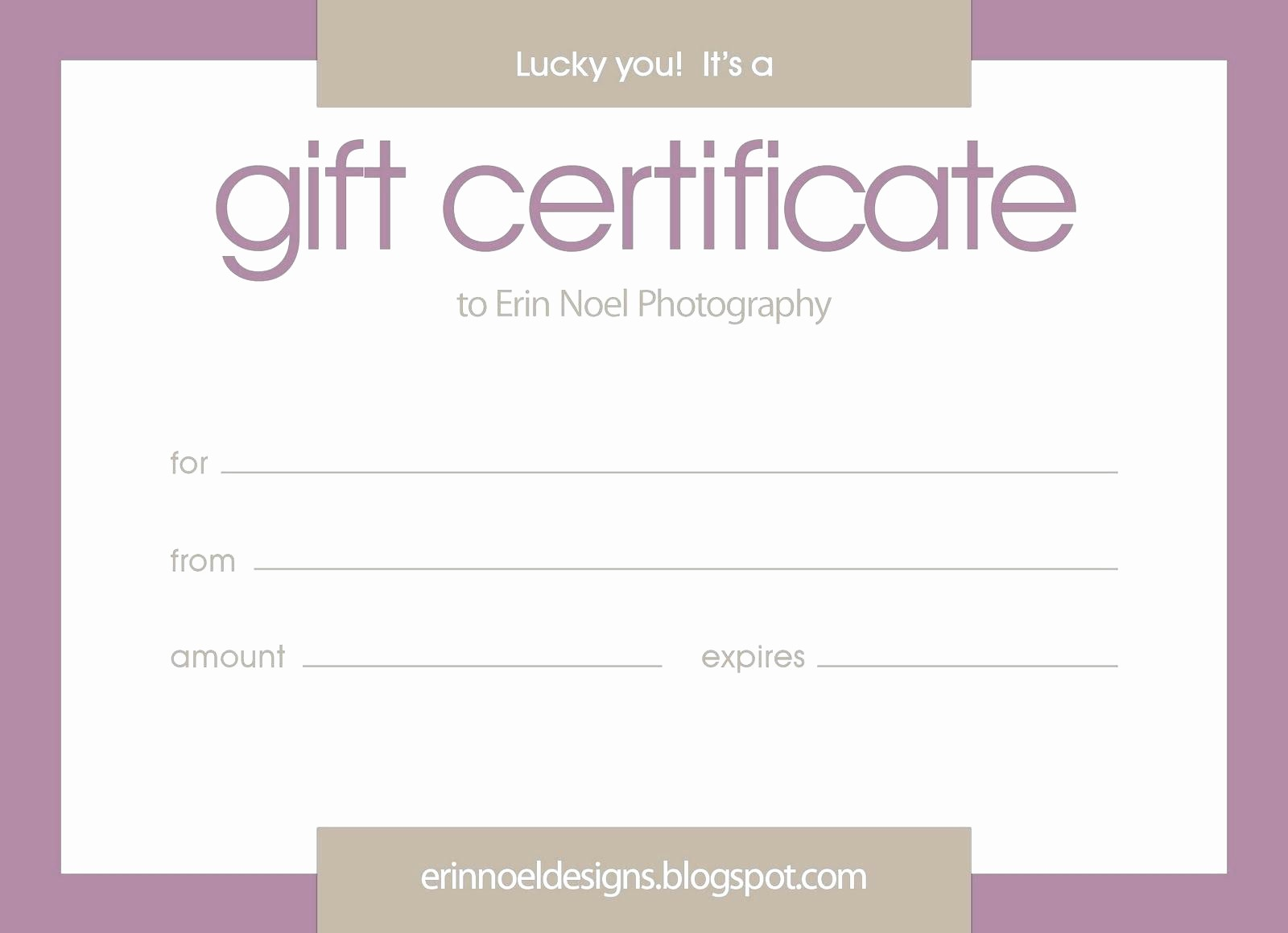 Generic Gift Certificates Print Free Elegant Generic Gift Card Template Gift Ftempo