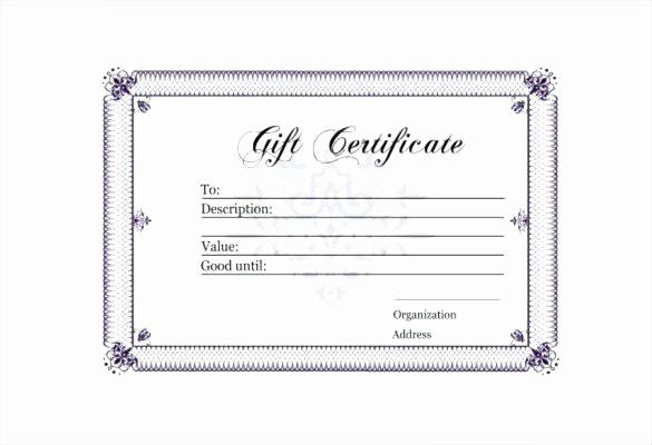 Generic Gift Certificates Print Free Luxury Kids Gift Certificate Template Colorful Printable Generic