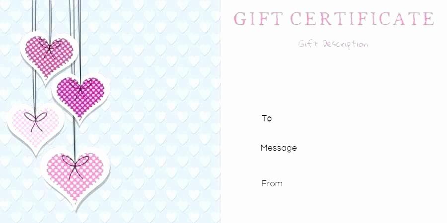 Generic Gift Certificates Print Free Luxury Restaurant Gift Certificate Template Lovely Generic Free