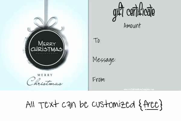 Generic Gift Certificates Print Free Unique Homemade Gift Certificates Printable Cards for Boyfriend