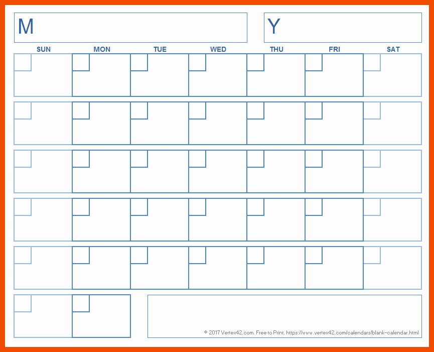 Generic Monthly Calendar Template Word New 8 9 Generic Calendar