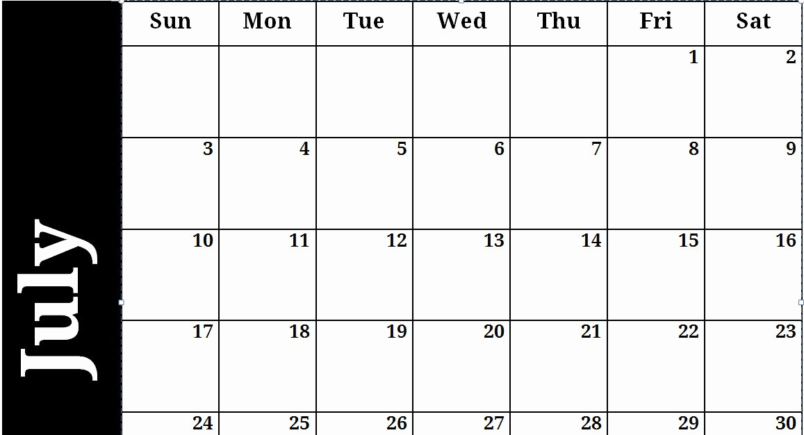 Generic Monthly Calendar Template Word Unique Generic Monthly Calendar Search Results
