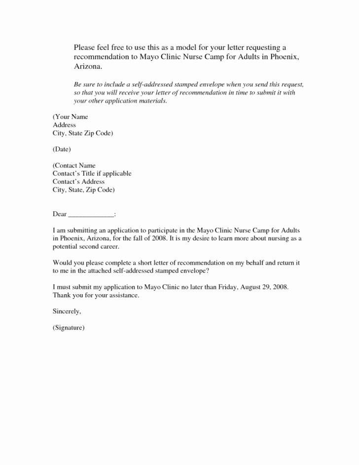 Generic Recommendation Letter for Student Fresh Generic Letter Re Mendation Examples Sample for