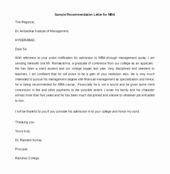 Generic Recommendation Letter for Student Fresh Scholarship Letter Re Template Best Sample