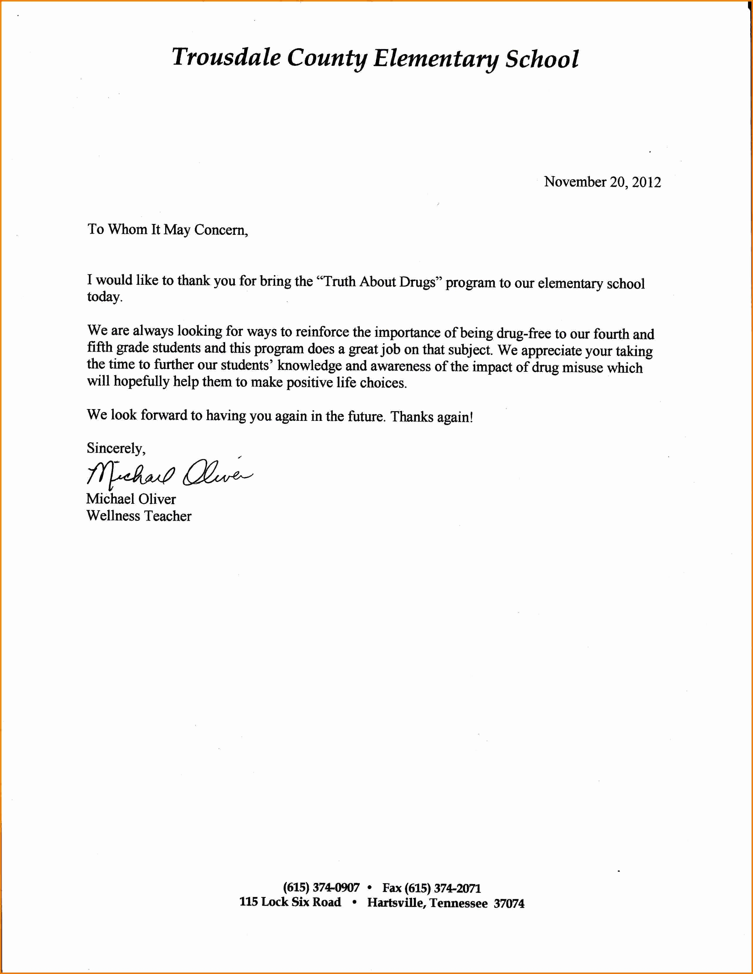 Generic Recommendation Letter for Student New Re Mendation Letter for Student
