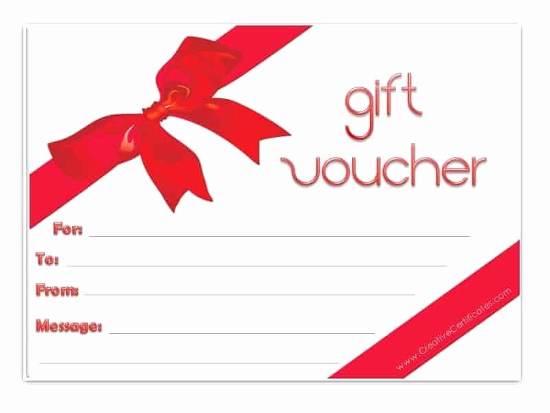 Gift Card Template Free Download Awesome Gift Voucher Template