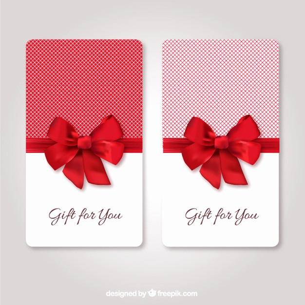 Gift Card Template Free Download Fresh Gift Cards Template Vector