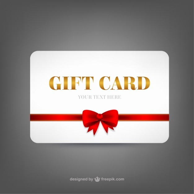 Gift Card Template Free Download Inspirational Gift Card Template Vector