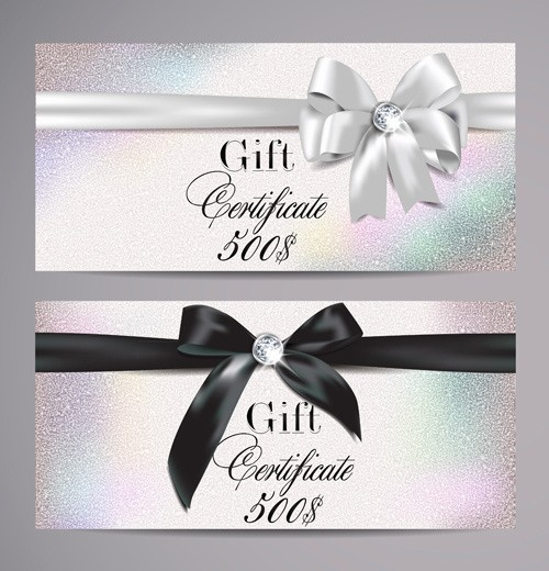 Gift Card Template Free Download New ornate T Certificates Template Vectors Free Vector In