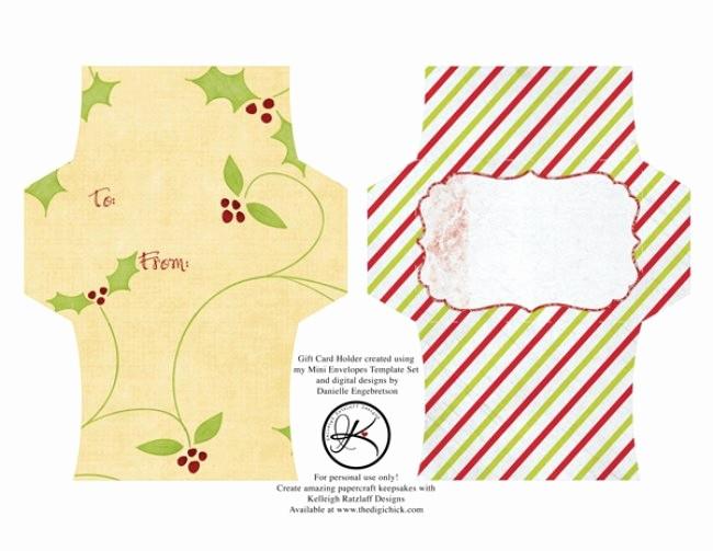 Gift Card Templates Free Printable Lovely 13 Free Printable Envelope Templates – Tip Junkie