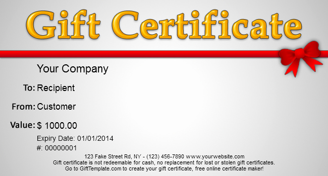 Gift Certificate Samples Free Templates Awesome Gift Template Blog Free Gift Certificate Templates