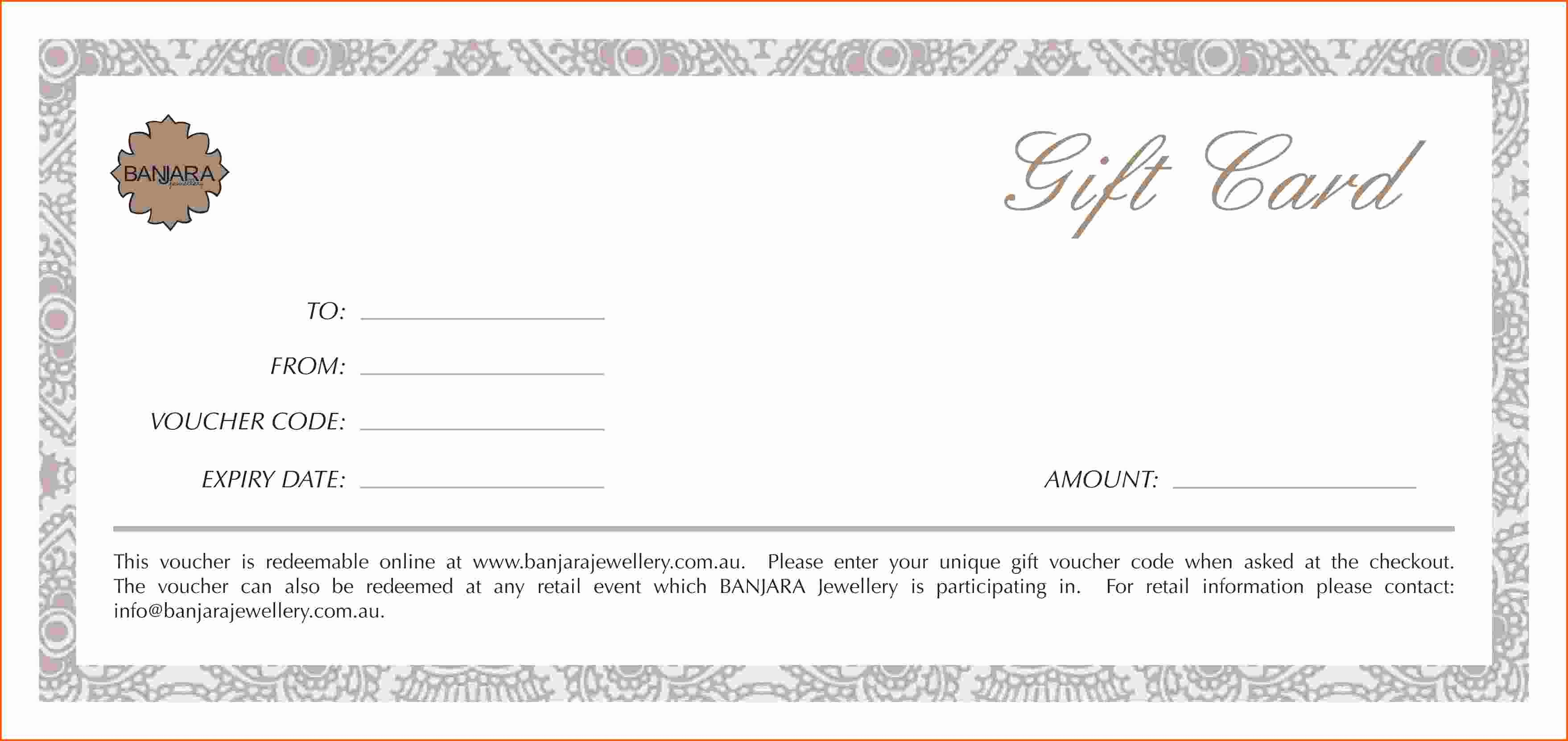 Gift Certificate Samples Free Templates Beautiful 24 Exceptional Design Samples for Gift Vouchers Templates