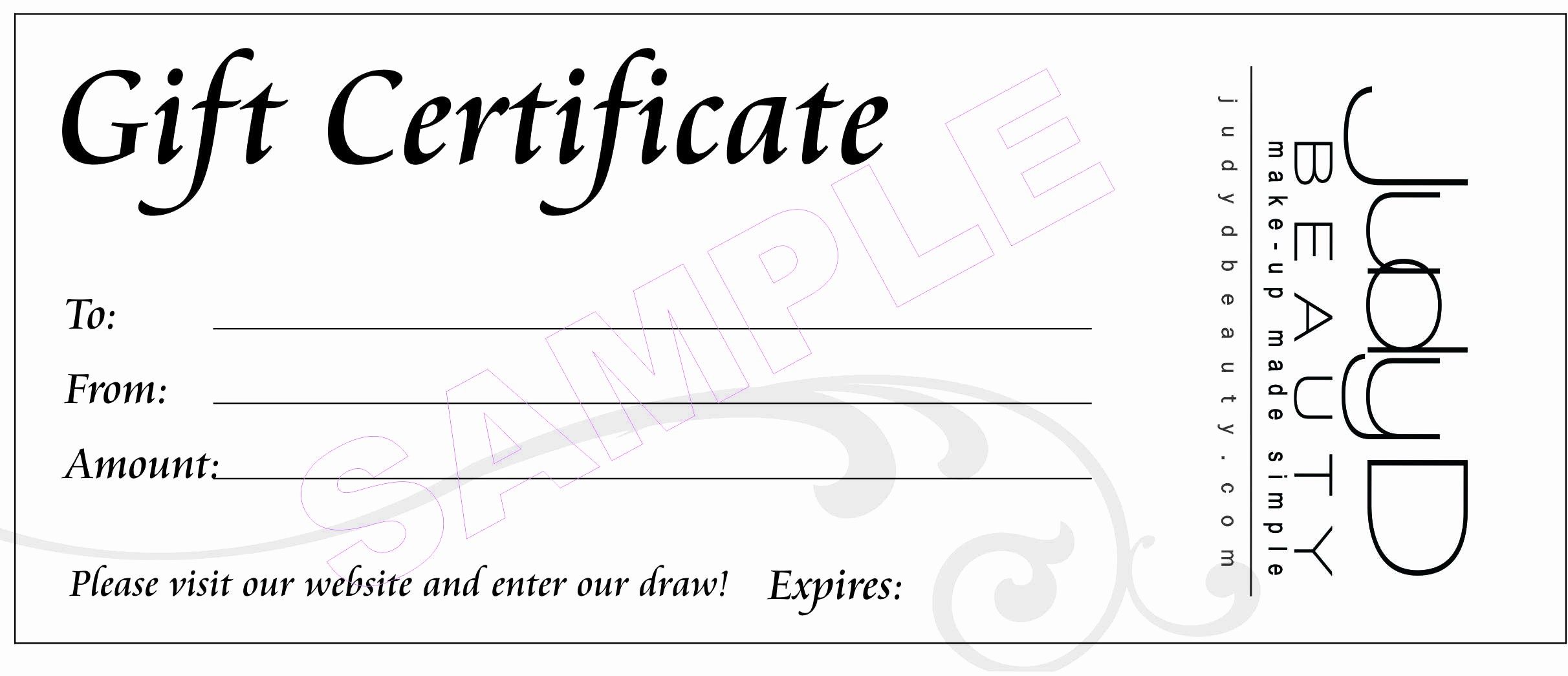 Gift Certificate Samples Free Templates New 18 Gift Certificate Templates Excel Pdf formats