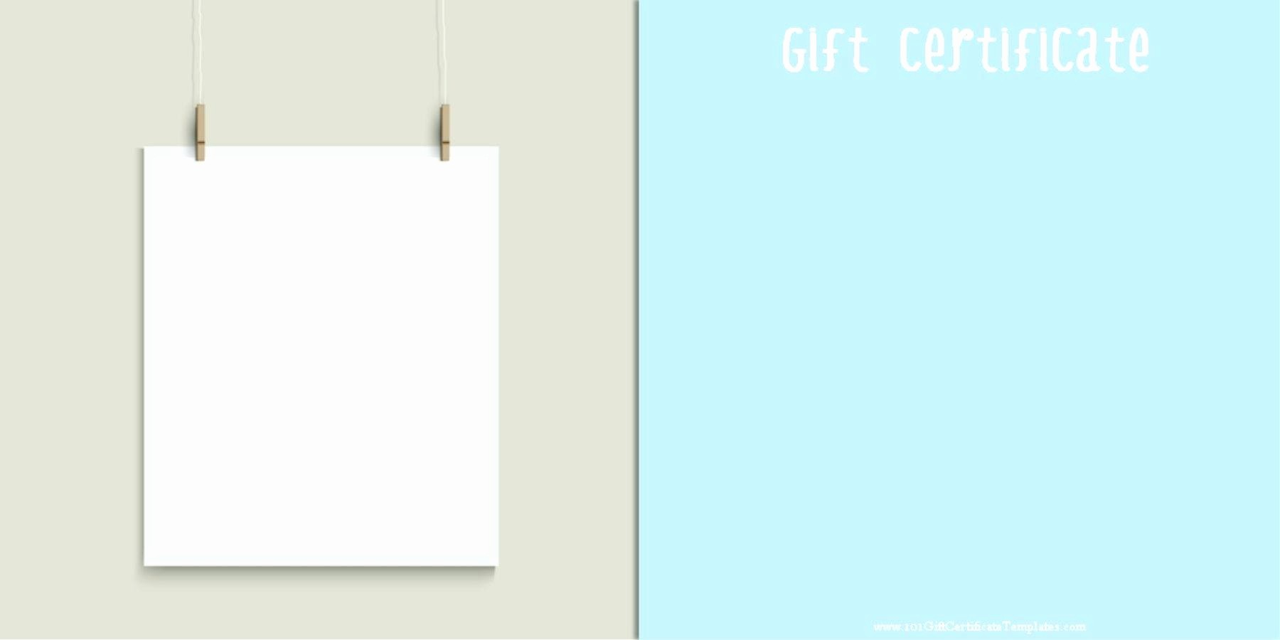 Gift Certificate Template for Mac Awesome Template Gift Certificate Template for Mac