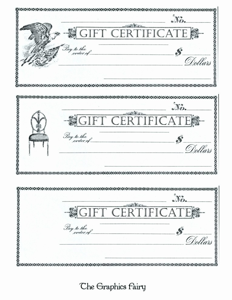 Gift Certificate Template for Mac Beautiful Printable T Voucher Template