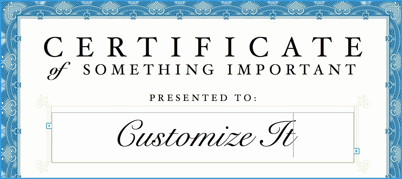 Gift Certificate Template for Mac Best Of Marvelous Ideas Free Download Gift Certificate Template