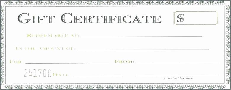 Gift Certificate Template for Mac Elegant Gift Certificate Template Free Download Gift Certificates