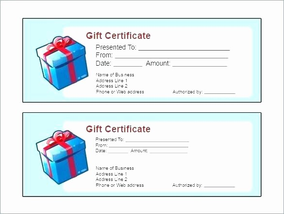 Gift Certificate Template for Mac Fresh Free Printable T Certificate Templates for Mac Free