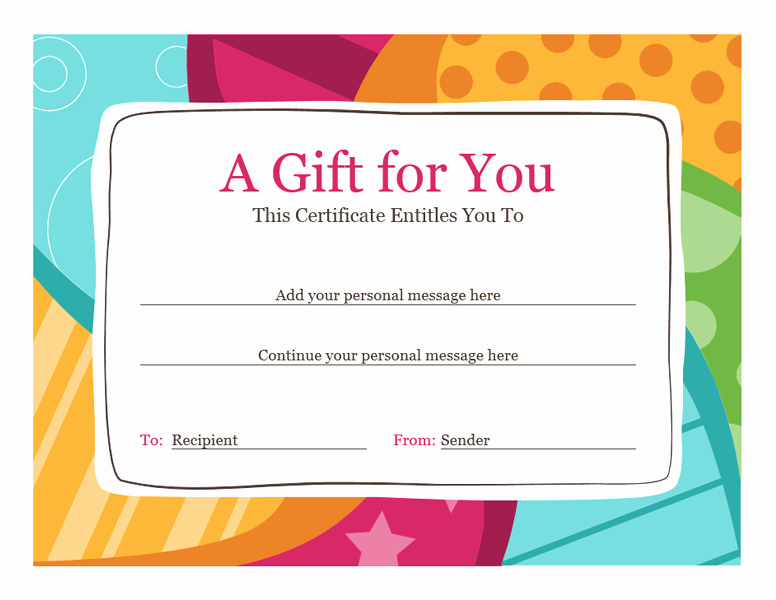 Gift Certificate Template for Mac Inspirational Download Gift Certificate Template Word Mac Free