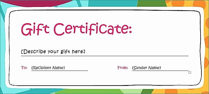 Gift Certificate Template for Mac Unique Mac Gift Certificate 100 T Certificate Sale Carey Mac